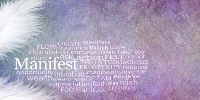 Manifest to Achieve Goals