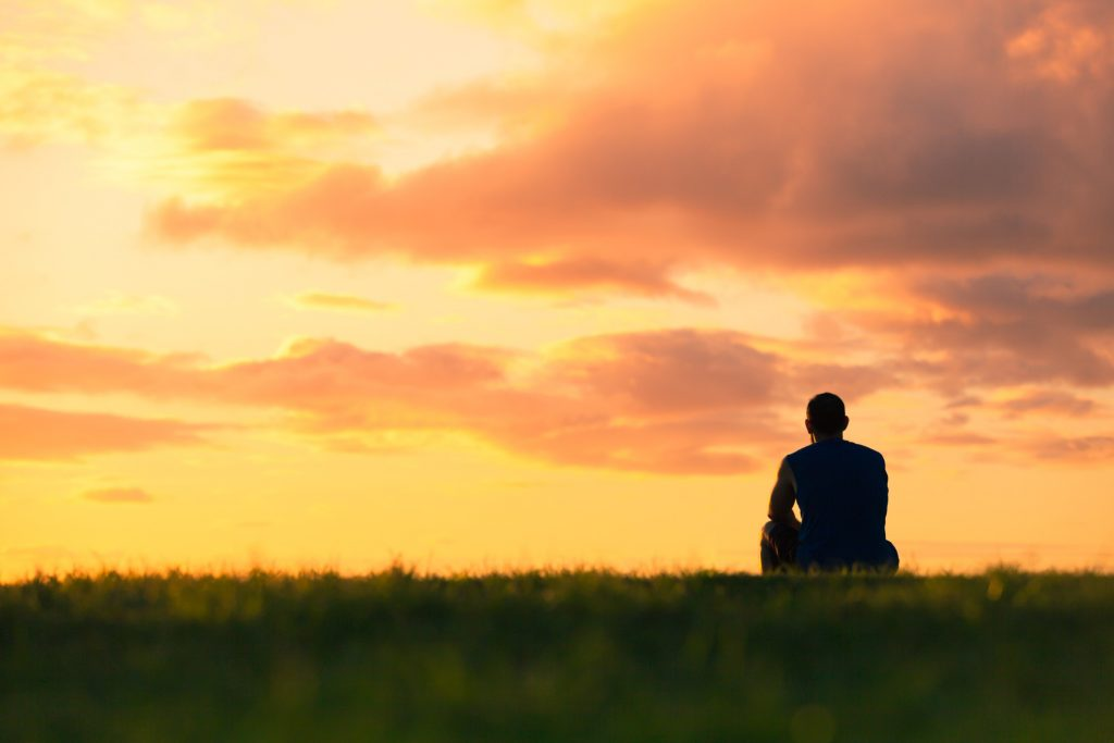 Meditating to confront loneliness